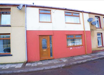 Thumbnail 3 bed terraced house for sale in Abercerdin Road, Gilfach Goch, Porth