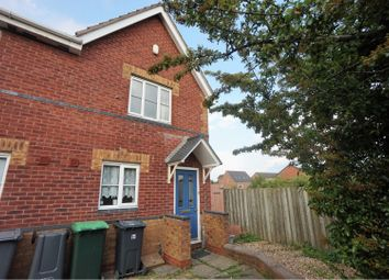 Thumbnail 2 bed end terrace house for sale in Bramah Way, Tipton