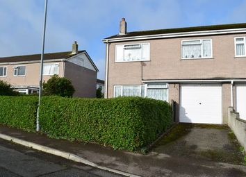 Thumbnail 3 bed semi-detached house for sale in Bosvean Gardens, Paynters Lane, Redruth
