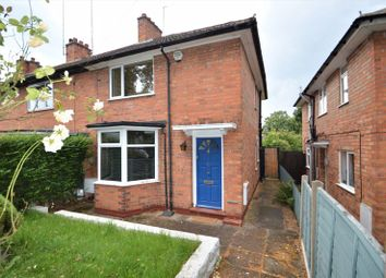Thumbnail 2 bed end terrace house to rent in Derwent Road, Stirchley, Birmingham
