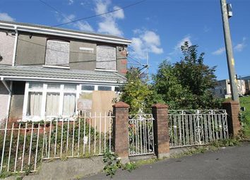 Thumbnail 3 bed terraced house for sale in Wood Street, Gilfach Goch, Porth