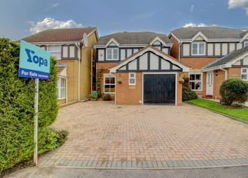 Thumbnail 3 bed detached house for sale in Heydon Court, Bradville, Milton Keynes