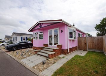 Thumbnail 2 bed mobile/park home for sale in East Beach Park, Shoeburyness