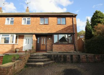 Thumbnail 3 bed semi-detached house for sale in Thorncliffe View, Leek, Staffordshire