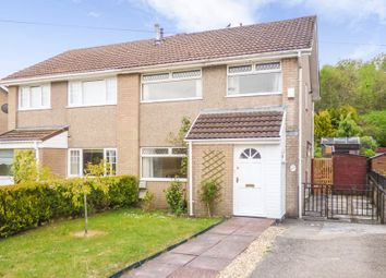 Thumbnail 3 bed semi-detached house for sale in Oliver Jones Crescent, Tredegar