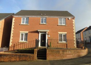 Thumbnail 4 bedroom detached house for sale in Clos Y Fendrod, Llansamlet, Swansea