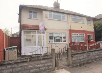 Thumbnail 3 bed semi-detached house for sale in Crosby Green, Liverpool