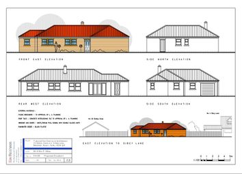 Thumbnail 3 bed bungalow for sale in Sibcy Lane, Balderton, Newark, Nottinghamshire.