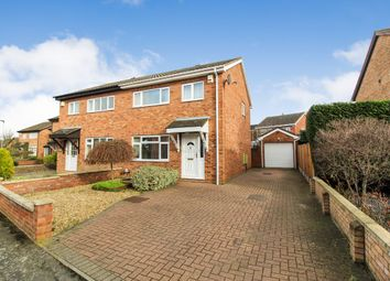 Thumbnail 3 bed semi-detached house for sale in Marlow Way, Bedford