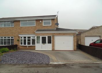 Thumbnail 3 bed semi-detached house to rent in Hayling Way, Stockton-On-Tees