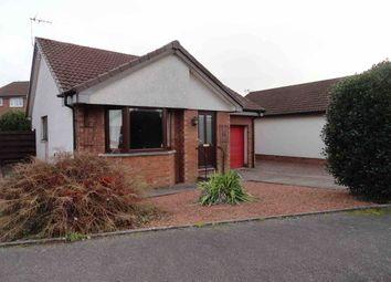 Thumbnail 2 bed detached bungalow for sale in Dinwiddie Drive, Heathhall, Dumfries