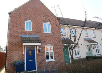 Thumbnail 3 bed terraced house to rent in Heron Way, Benwick, March, Oua