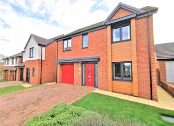 Thumbnail 4 bed detached house for sale in Foxfield Close, Kenton Bank Foot, Newcastle Upon Tyne
