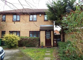 Thumbnail 1 bedroom terraced house for sale in Dexter Close, Luton, Bedfordshire