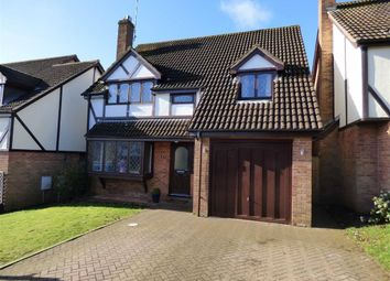 Thumbnail 4 bed detached house for sale in Spinney Rise, Daventry