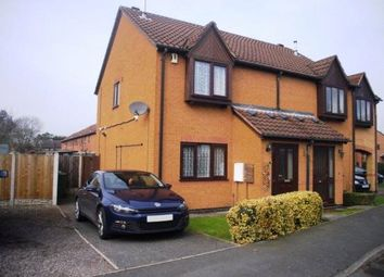 Thumbnail 3 bed semi-detached house to rent in St. Columba Way, Syston, Leicester, Leicestershire