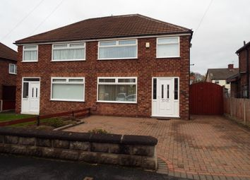 Thumbnail 3 bed semi-detached house for sale in Stanhope Drive, Bromborough, Wirral