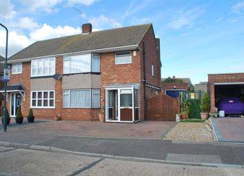 Thumbnail 3 bed semi-detached house for sale in Newitt Road, Hoo, Rochester