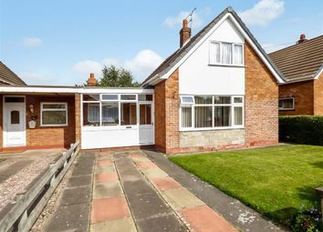 Thumbnail 3 bed detached bungalow for sale in Wordsworth Drive, Sydney, Crewe