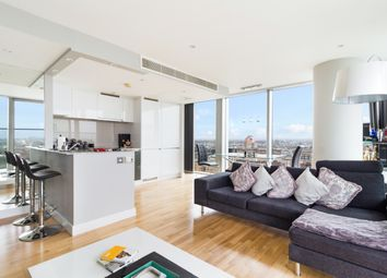 Thumbnail 2 bed flat for sale in Landmark, West Tower, Canary Wharf