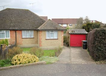 Thumbnail 2 bed semi-detached bungalow for sale in Auckland Road, Caterham