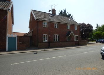 Thumbnail 3 bedroom semi-detached house to rent in Norwich Road, Chedgrave, Loddon