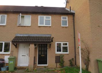 Thumbnail 2 bed terraced house for sale in Empingham Close, Bletchley, Milton Keynes