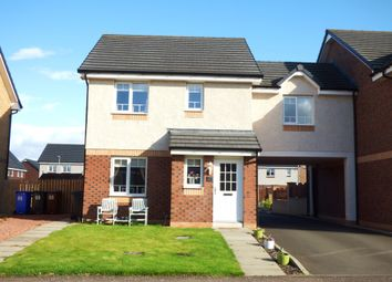 Thumbnail 3 bed link-detached house for sale in Flax Way, Greenock