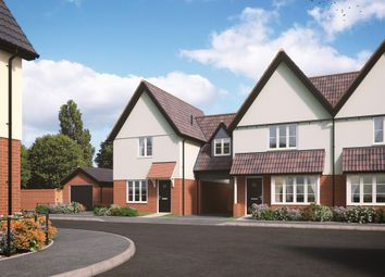 Thumbnail 3 bed link-detached house for sale in Old Station Road, Mendlesham, Stowmarket