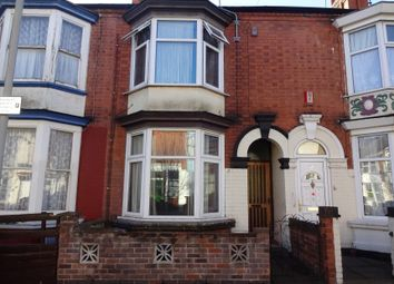 Thumbnail 3 bed terraced house for sale in Paton Street, Off Narborough Road, Leicester