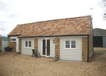 Thumbnail 1 bed cottage to rent in Wennington, Huntingdon
