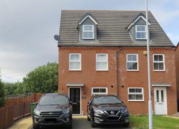 Thumbnail 3 bed semi-detached house for sale in Greenock Crescent, Monmore Grange, Wolverhampton