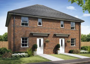"Thumbnail 3 bed semi-detached house for sale in ""Folkestone"" at Pye Green Road, Hednesford, Cannock"