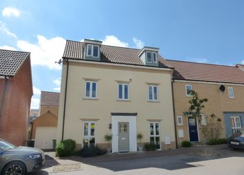 Thumbnail 3 bed town house for sale in Solario Road, Costessey, Norwich