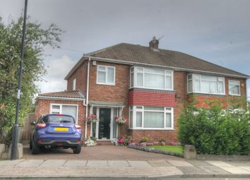 Thumbnail 3 bedroom semi-detached house for sale in Chapel House Drive, Chapel House, Newcastle Upon Tyne
