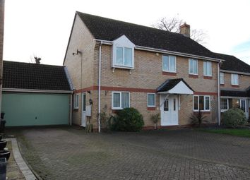 Thumbnail 4 bedroom detached house for sale in Red House Gardens, Soham, Ely
