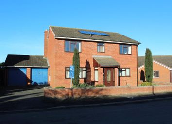 Thumbnail 4 bed detached house for sale in Westfields Close, Baschurch