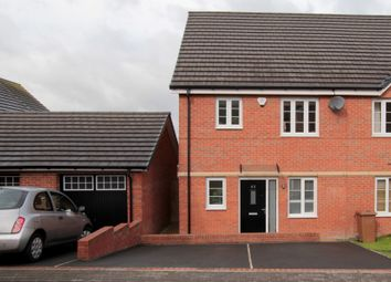 Thumbnail 3 bed town house for sale in Bluebell Avenue, Garforth, Leeds