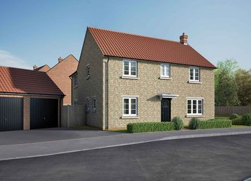 "Thumbnail 4 bedroom detached house for sale in ""The Kempthorne"" at Lincoln Road, Navenby, Lincoln"