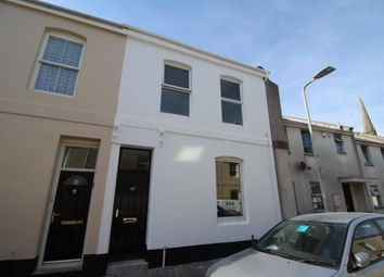Thumbnail 4 bed terraced house for sale in Francis Street, Plymouth