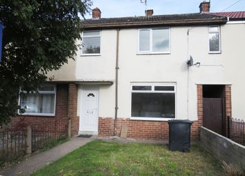 Thumbnail 3 bed terraced house for sale in Thackeray Street, Sinfin, Derby