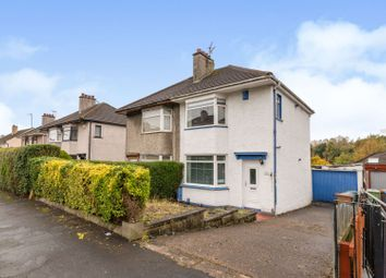 Thumbnail 2 bed semi-detached house for sale in Viewfield Avenue, Glasgow