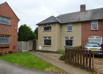 Thumbnail 3 bed semi-detached house for sale in Fielden Avenue, Mansfield