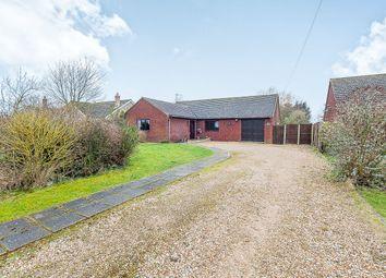 Thumbnail 3 bed detached bungalow for sale in School Road, Terrington St. John, Wisbech