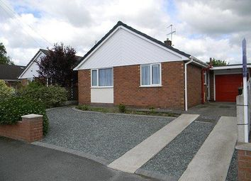 Thumbnail 2 bed bungalow to rent in Stancliffe Avenue, Marford, Wrexham