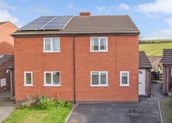 Thumbnail 2 bed semi-detached house for sale in Horseshoe Road, Chirbury, Montgomery