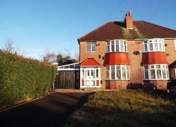 Thumbnail 3 bed semi-detached house for sale in Coventry Road, Sheldon, Birmingham, West Midlands