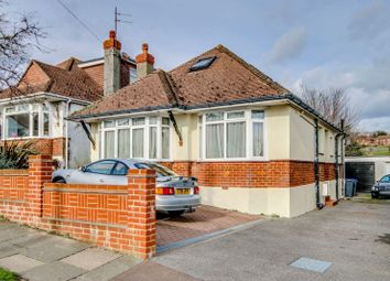 Thumbnail 4 bed detached bungalow for sale in Overhill, Southwick, Brighton