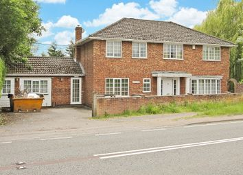 Thumbnail 5 bed detached house for sale in Church End, Chineham, Basingstoke