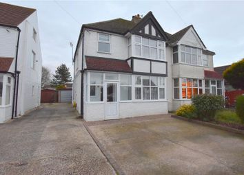 Thumbnail 3 bed semi-detached house for sale in Grinstead Lane, Lancing, West Sussex